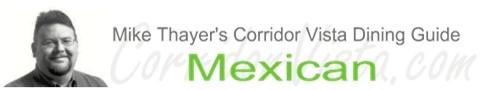 Corridor vista dining guide mexican