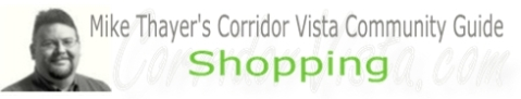 Corridor vista shopping
