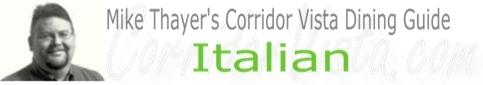Corridor vista italian