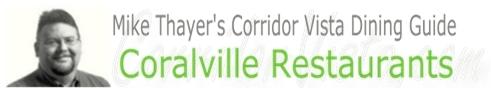 Corridor vista coralville restaurants