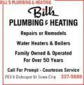 Bills plumbing