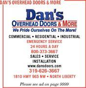 Dans overhead doors