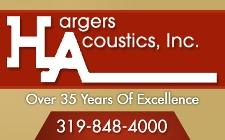Hargers acoustics