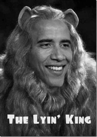 Obama the lyin king