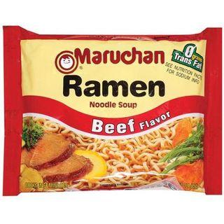 Ramen soup beef