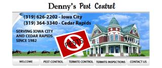 Denny's Pest Control