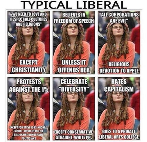 Typical liberal