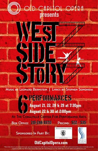 Megan O'Brien - West Side Story Poster - August
