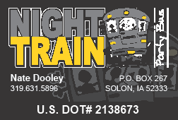 Night Train Party Bus