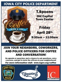 IC Coffee With A Cop
