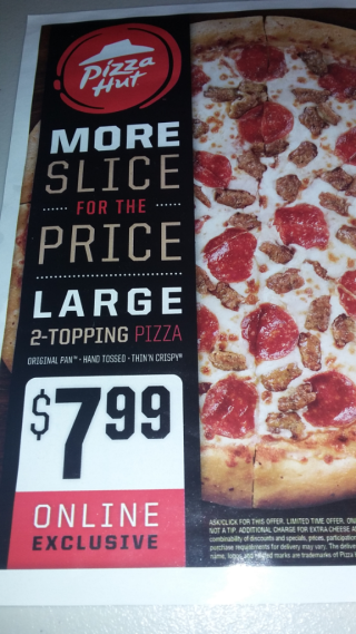 Pizza Hut Deal