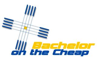 Bachelor on the Cheap Logo