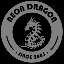 Neon Dragon Tattoo