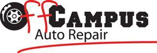 Off campus auto repair