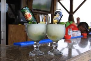 Rita drinks