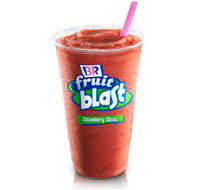 Baskin Robbins Fruit Blast Smoothie