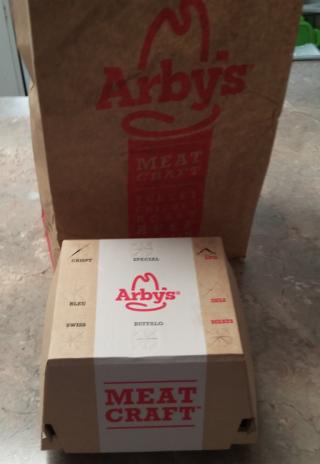 Arby's Bourbon BBQ Brisket Sandwich