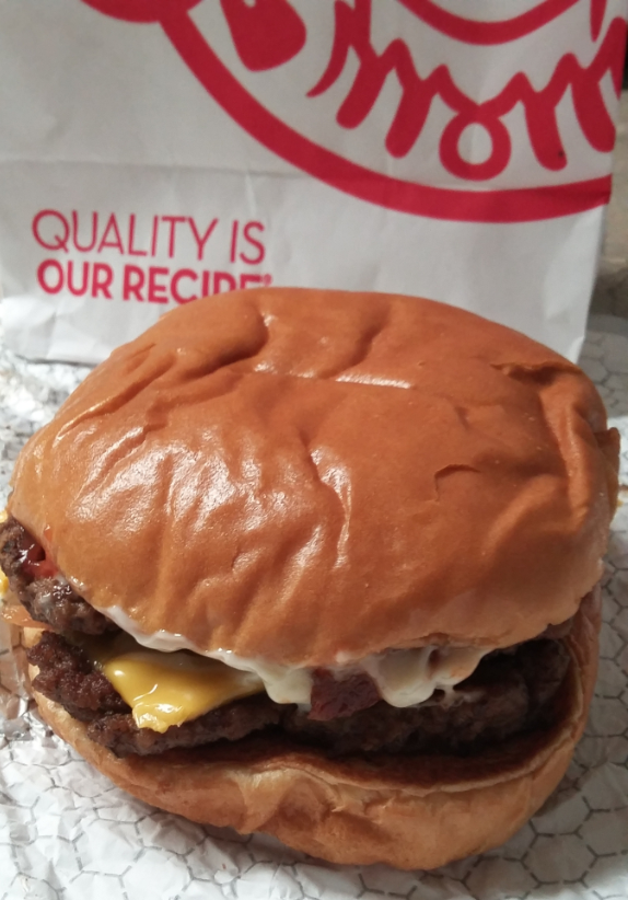 The Baconator from Wendy's delivers on taste and quality