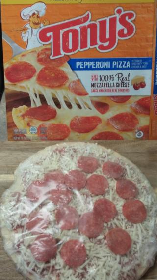 Tony's Pepperoni Pizza