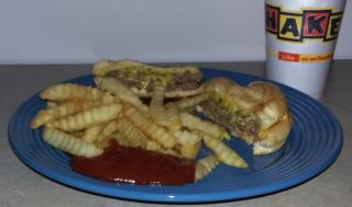 Dog-N-Shake Double Cheeseburger