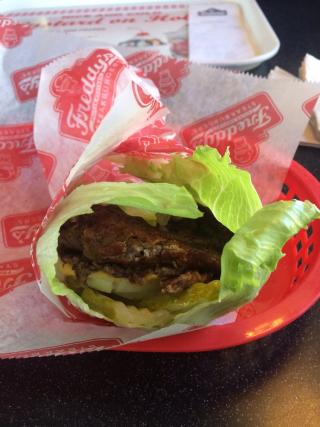 Freddy's Lettuce Wrap