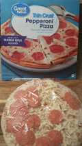 Great Value Pepperoni Pizza
