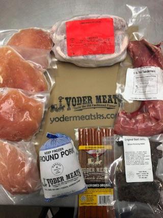 Yoder Meats Feb Butcher Bag