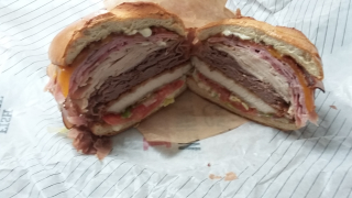 Arby's 5 Meat Stack