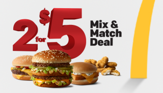 McDonalds 2$5