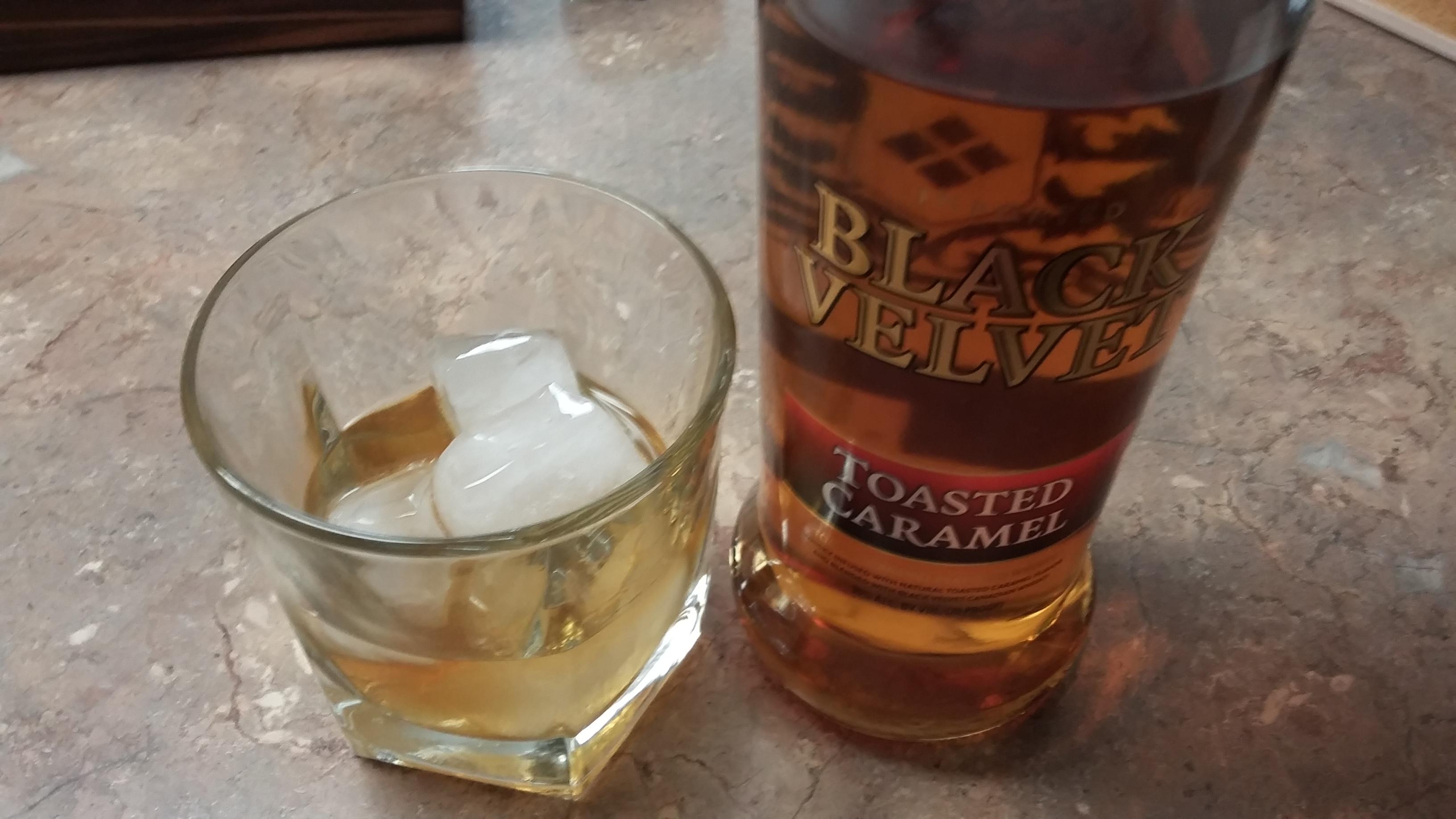 Drink Review: Black Velvet Toasted Caramel Whiskey - Bachelor on ...