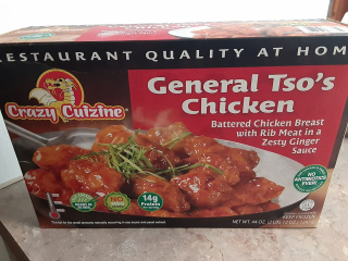 Crazy Cuizine General Tso's Chicken