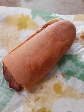 Subway Pit-Smoke Brisket Sandwich