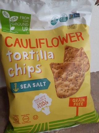 Cauliflower Tortilla Chips