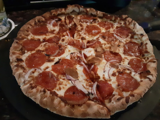 Deano's Doggy Breath Pizza