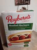 Raybern's Meatball Marinara Sandwich