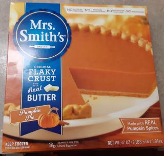 Mrs. Smith's Pumpkin Pie