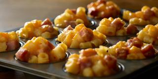 Mac and cheese w ham