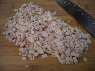 Chopped turkey
