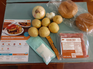 Griddled Onion Burgers