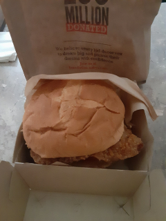 Arby's Classic Chicken Sandwich