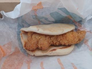 Taco Bell's Crispy Chicken Sandwich Taco