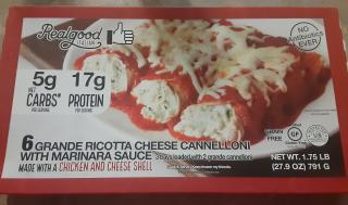 Grande Ricotta Cheese Cannelloni