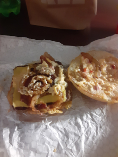 Wendy's Bacon Cheeseburger