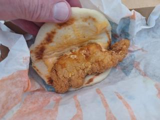 Crispy Chicken Sandwich Taco
