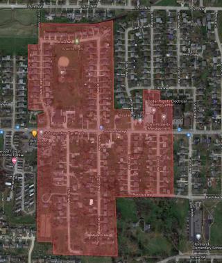 Cedar Rapids quadrant
